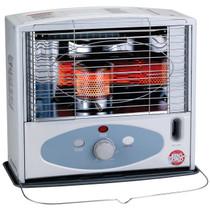 White radiant kerosene heater right angle ignited