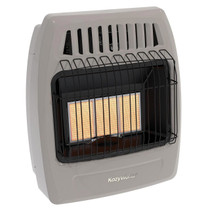 Kozy World 3 Plaque Wall Heater Front View