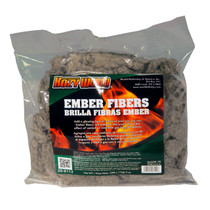 4 OZ BAG DECORATIVE EMBER FIBERS USED IN VENT FREE OR VENTED GAS LOGS TO CREATE A DECORATIVE GLOWING EMBER BED