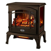 BRONZE RECTANGULAR ELECTRIC STOVE