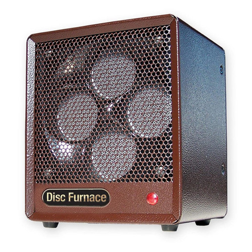 LEFT ANGLE VIEW PORTABLE BROWN BOX HEATER