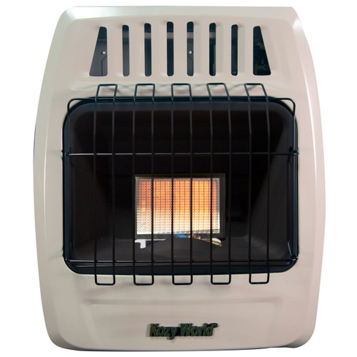 FRONT VIEW OF BEIGE INFRARED WALL HEATER