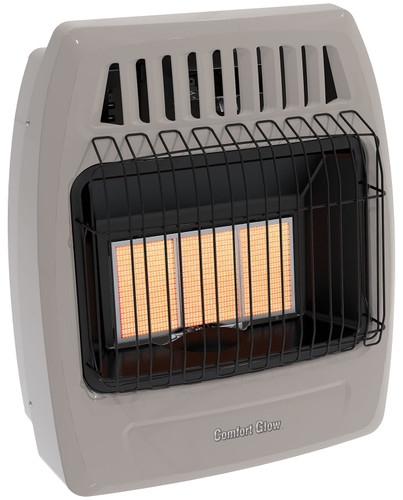 Comfort Glow Plaque Wall Heater Front View