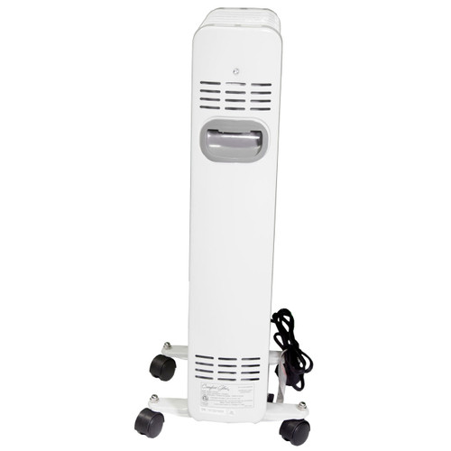 Comfort Glow Eof260 Sleek Portable Oil Filled Radiator