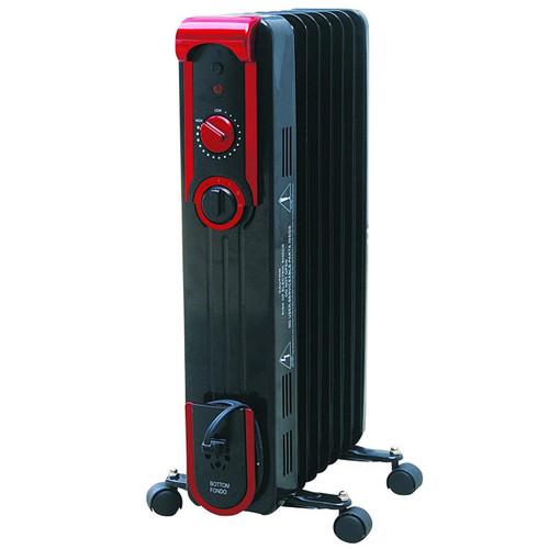 Comfort Glow EOF261 Sleek Portable Oil Filled Radiator Heater, Black