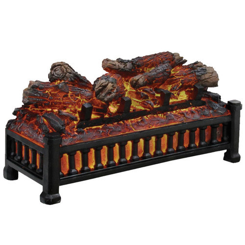 Comfort Glow ELCG125 Electric Glowing Logs with Crackling Sound Effect