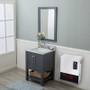 Lifestyle image of electric quartz heater