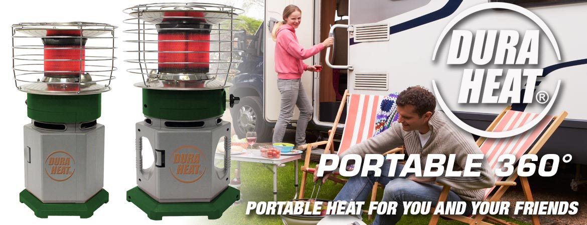 Portable 360 Image - Click here for propane tank heaters
