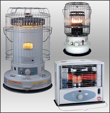 Indoor Kerosene Heater Support