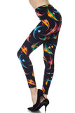 Buttery soft Gorgeous Angel Fish Leggings