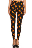 Buttery Soft Broomstick Witches Halloween Plus Size Leggings