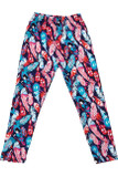 Buttery Soft Gorgeous Feathers Kids Leggings