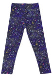 Buttery Soft Space Constellation Kids Leggings