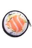 Sushi Round Graphic Print Coin Purse - 18 Styles