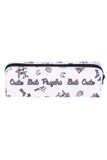 Cute, but Psycho Sassy Text Rectangular Graphic Print Cosmetics Case - 18 Styles