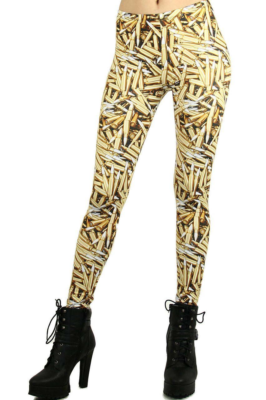Golden Bullet Leggings