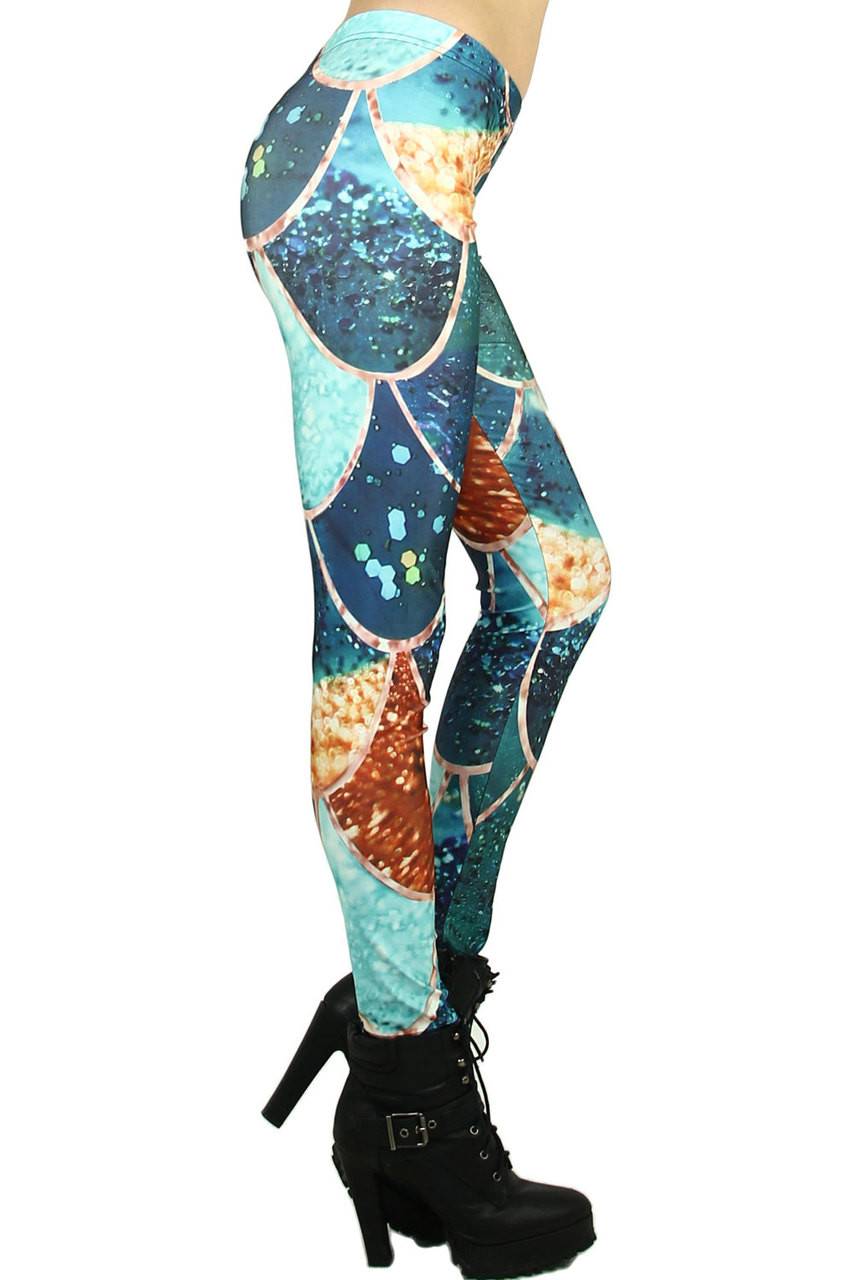 Mosaic Scale Leggings