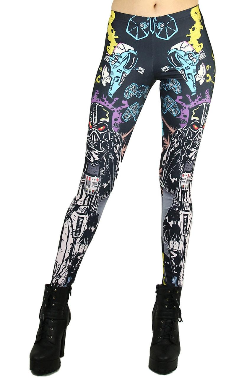 Vader Cartoon Leggings
