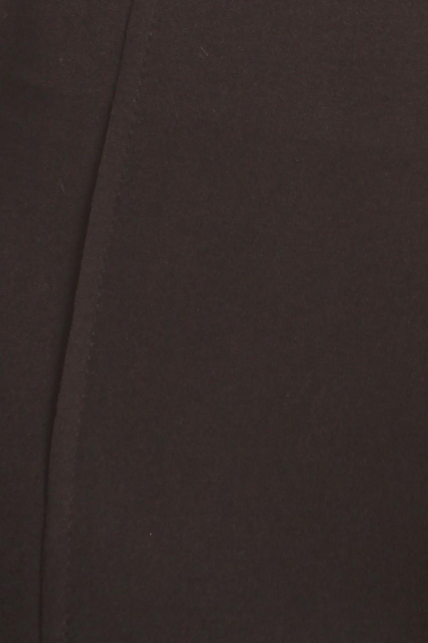 Close-up image of Black Sport Stirrup Leggings