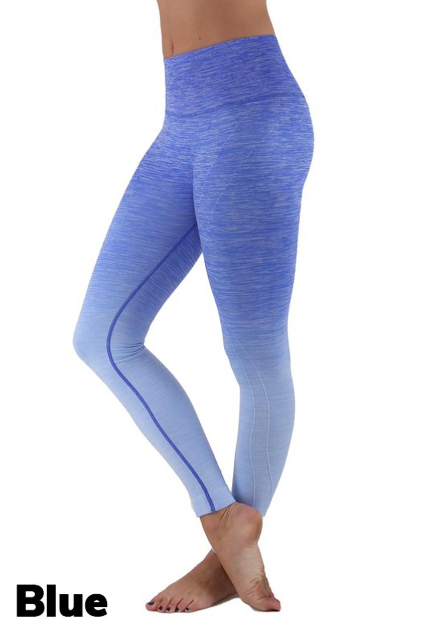 Wholesale Ombre Fusion Workout Plus Size Leggings