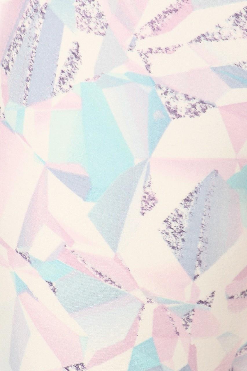 Brushed Pastel Kaleidoscope Sport Leggings