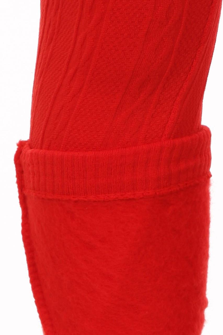 Cable Knit Fleece Lined Kids Leggings
