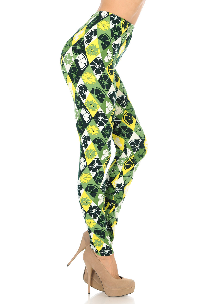 Buttery Soft Luck of the Irish Limes Leggings