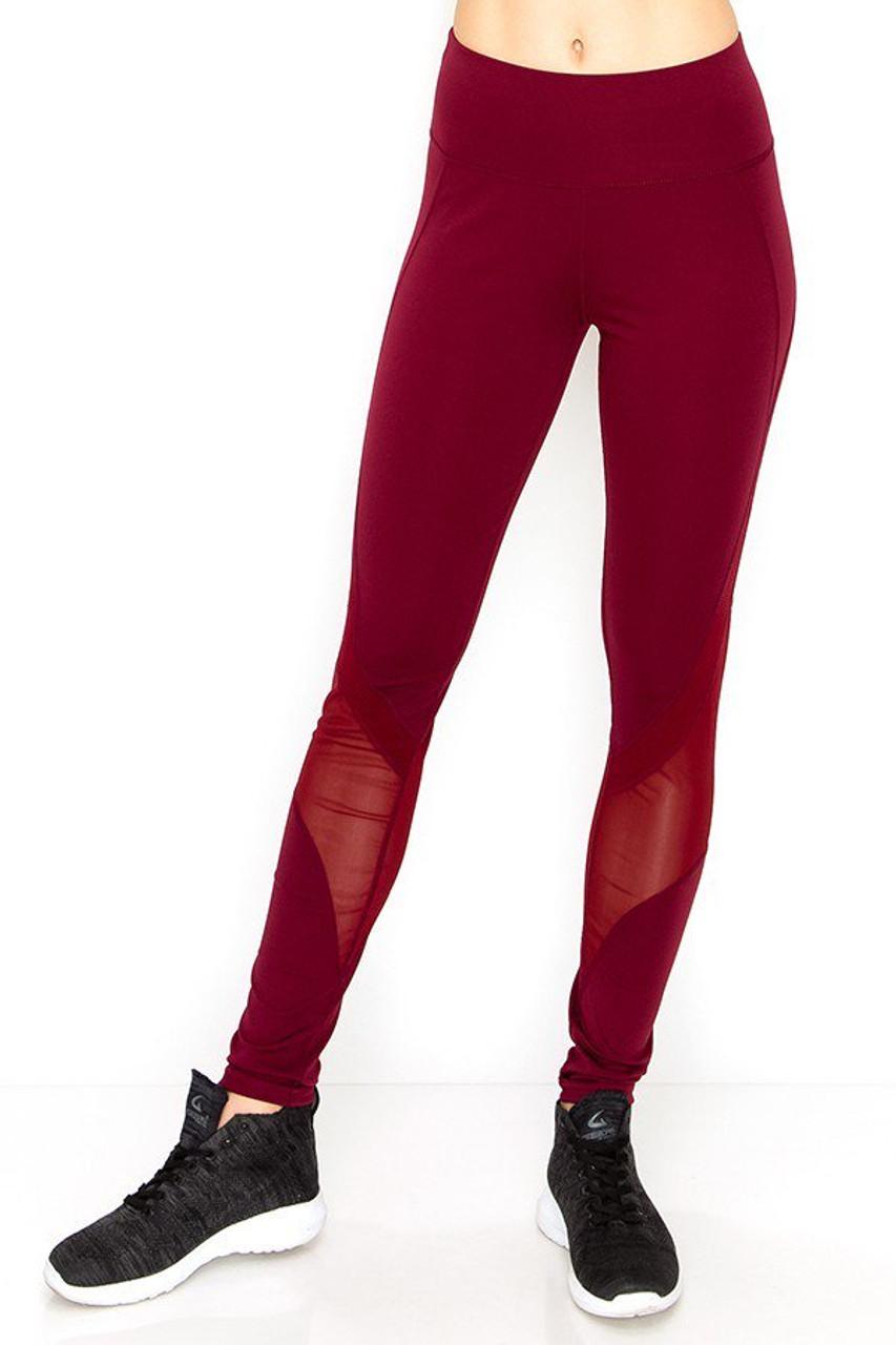 Sport Mesh Performance Women's Workout Leggings
