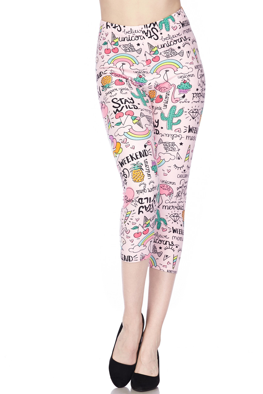 Buttery Soft Weekend Drama Queen Extra Plus Size Leggings - 3X-5X