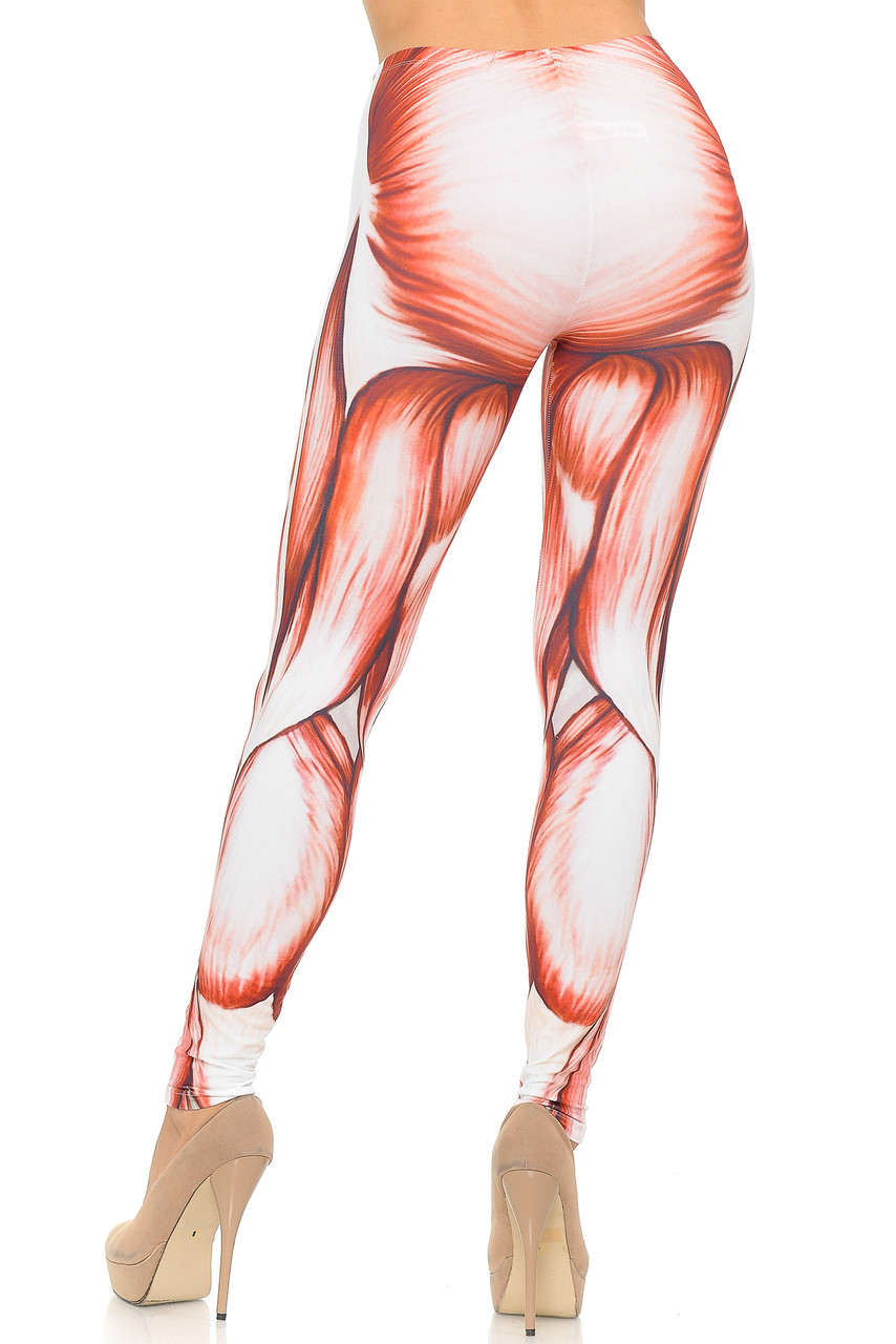 Soft Double Brushed Muscle Leggings
