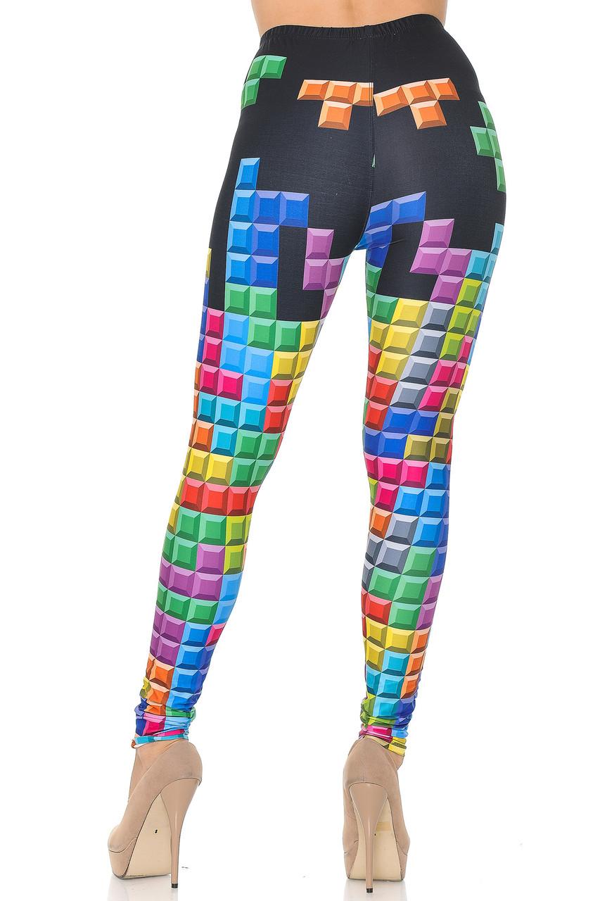 Creamy Soft Tetris Leggings - USA Fashion™