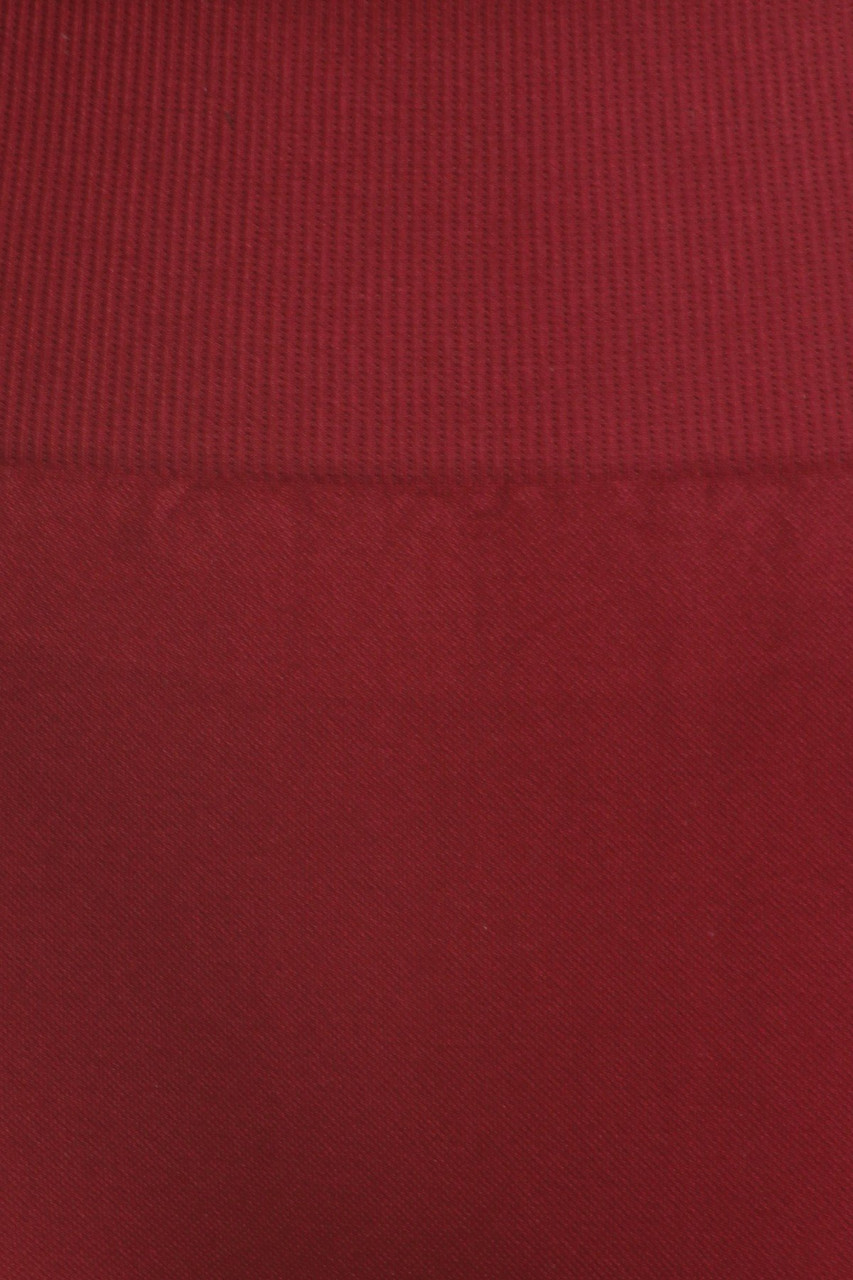 Close up fabric swatch of Burgundy Extra Thick Solid Basic Leggings