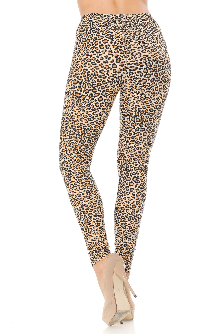 Our Buttery Soft Savage Leopard Extra Plus Size Leggings bring a fierce and sexy aesthetic to your look.