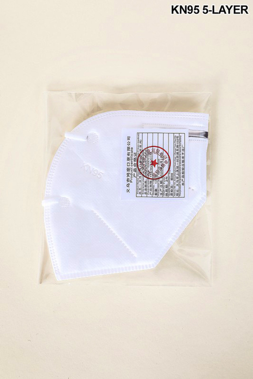 20 individually packaged oral filtration protective masks.