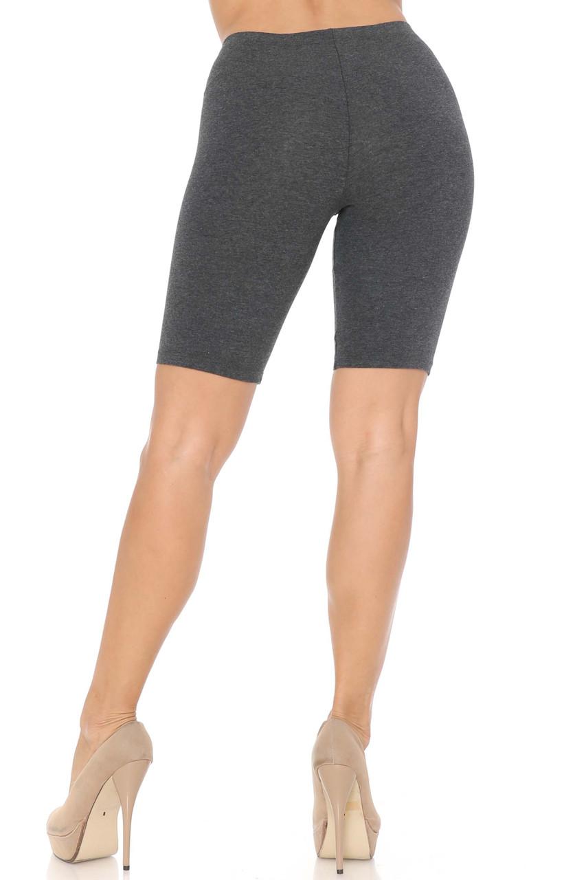 USA Basic Cotton Bermuda Thigh Shorts