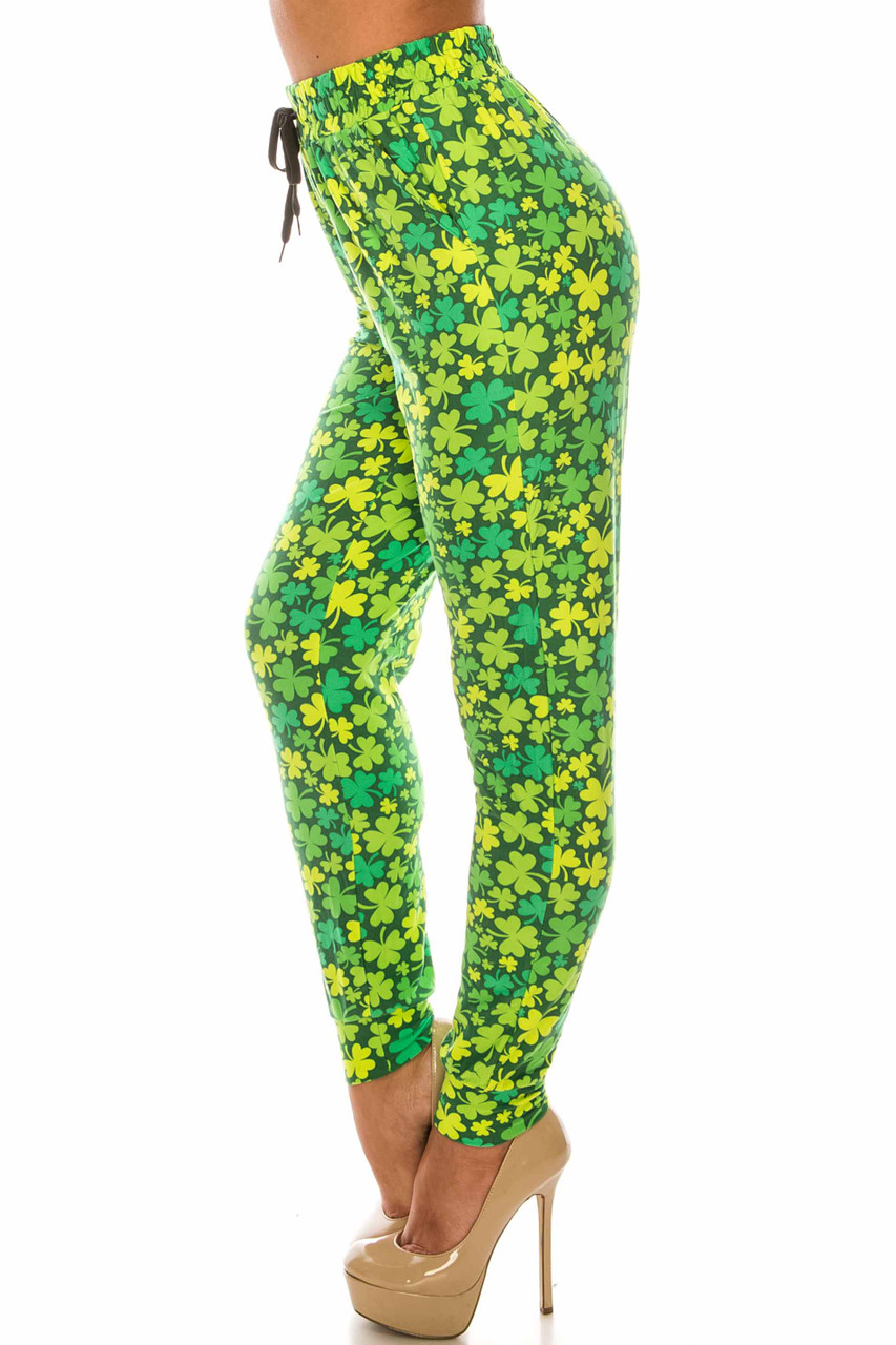 Irish Clover Buttery Soft Joggers - LIMITED EDITION