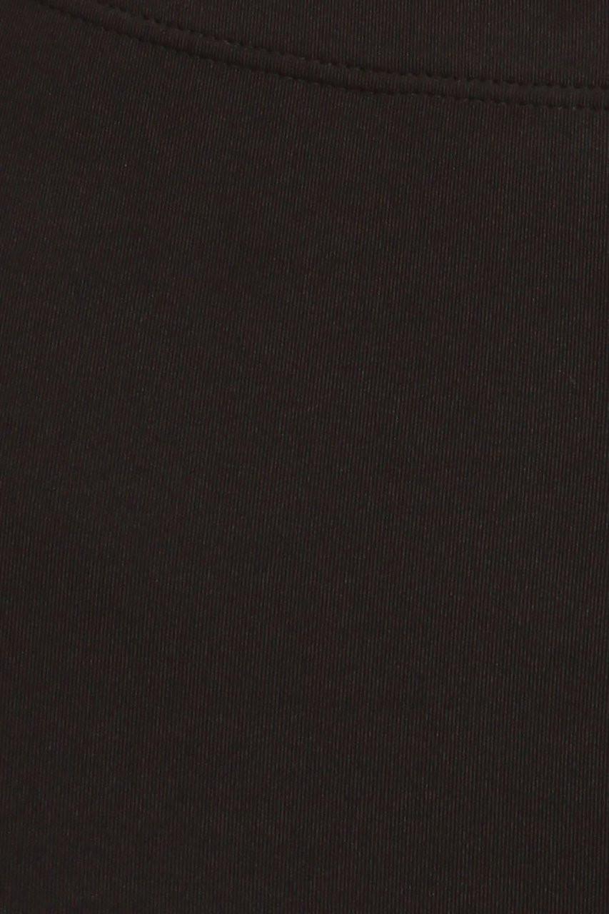 Black swatch for USA Basic Athleisure Shorts