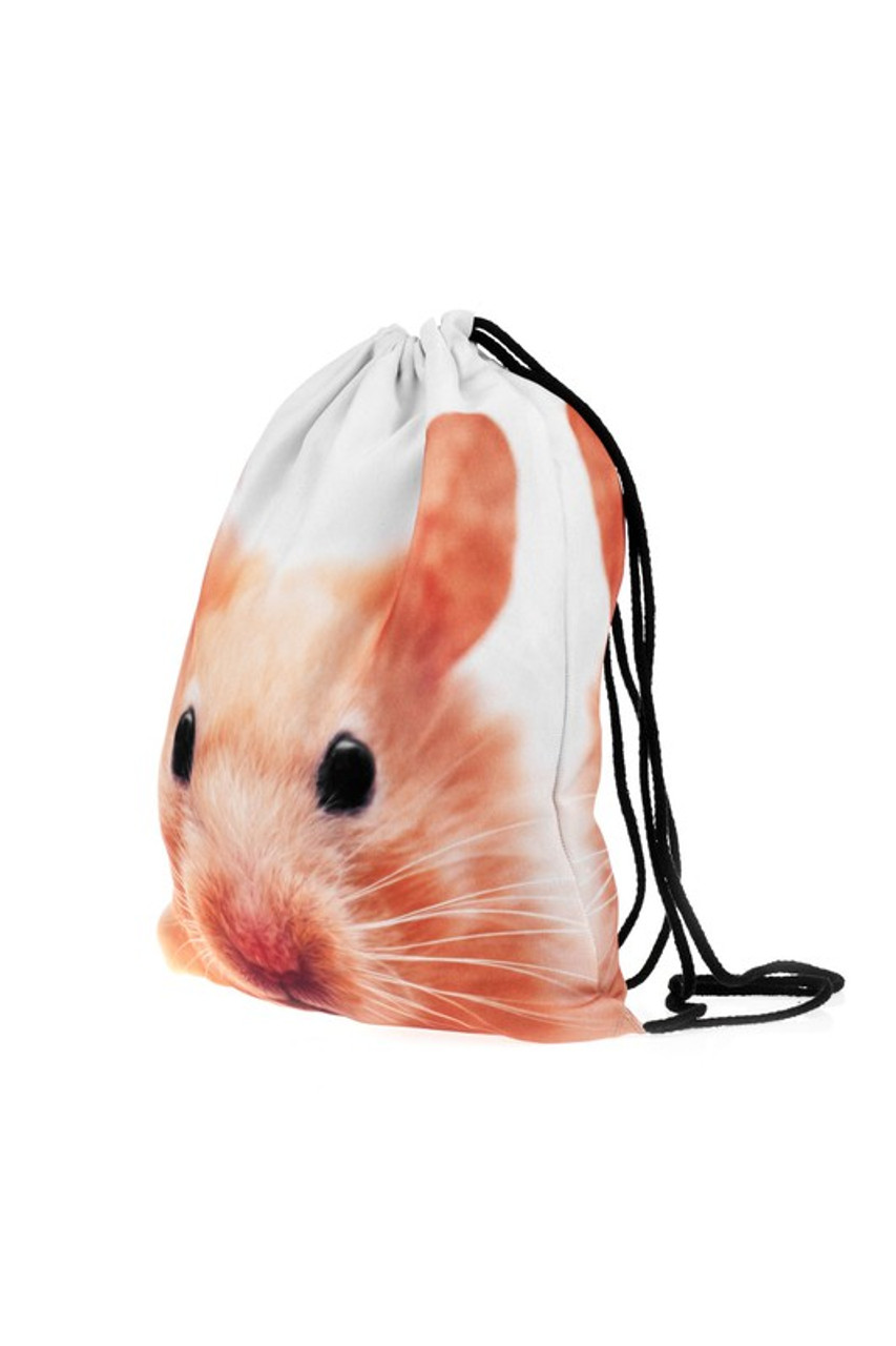 Hamsrer Graphic Print Drawstring Sack Backpack - 28 Styles