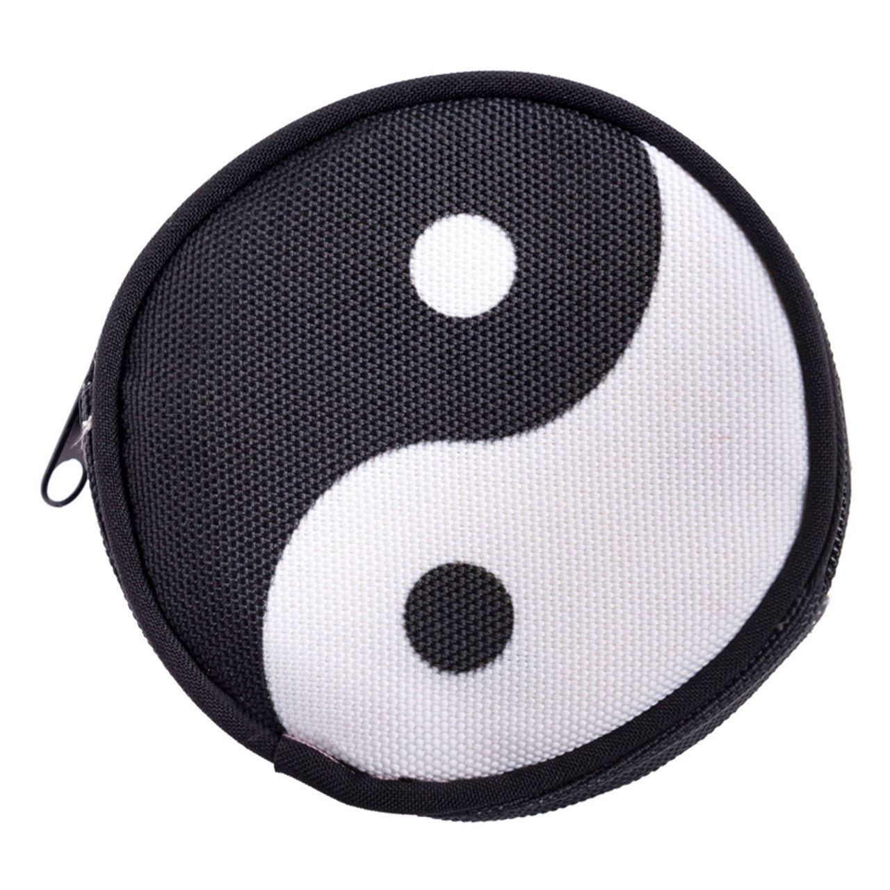 Yin Yang Round Graphic Print Coin Purse - 18 Styles