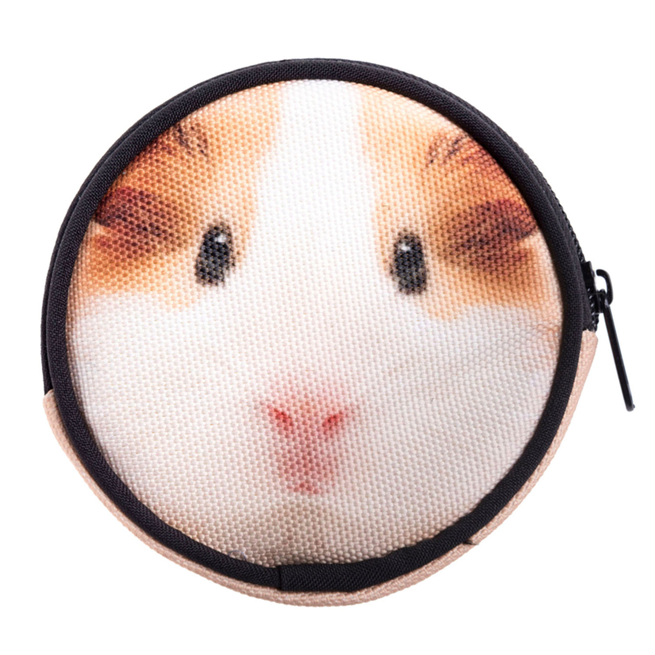 Guinea Pig Round Graphic Print Coin Purse - 18 Styles