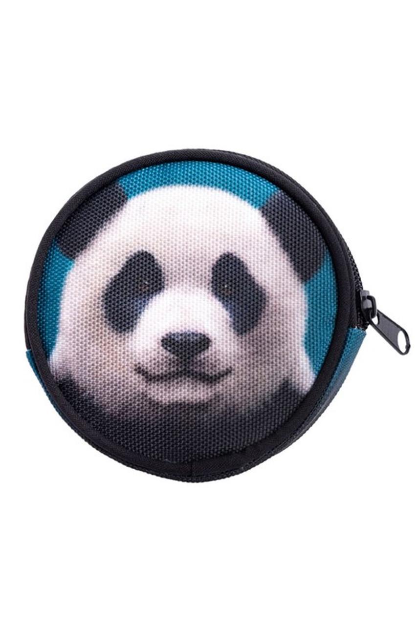 Panda Round Graphic Print Coin Purse - 18 Styles