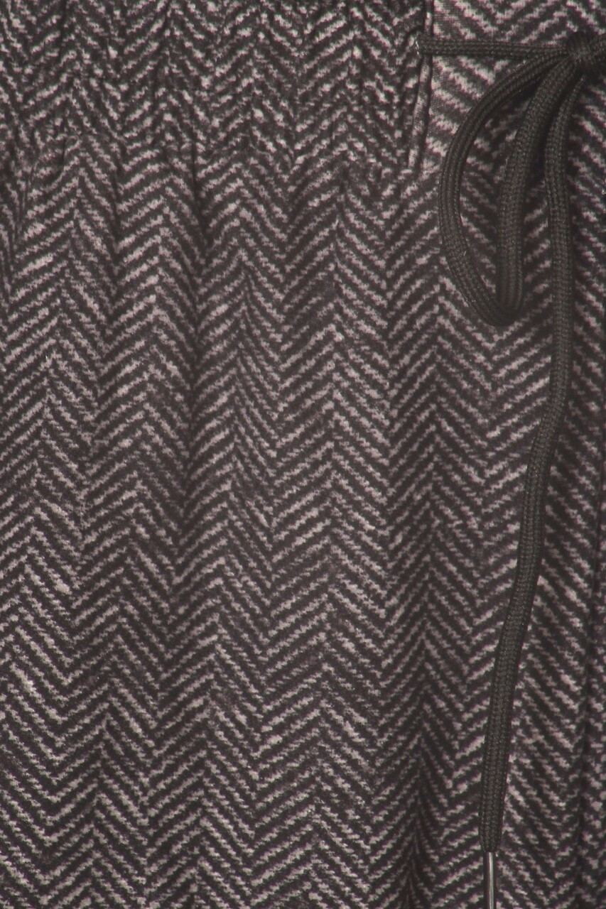 Close-up fabric swatch of Buttery Soft Textured Herringbone Plus Size Joggers