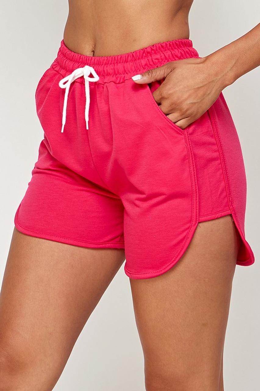 Waist Tie Summer Sport Dolphin Shorts