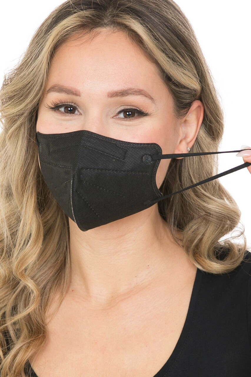 10 Pack - KN95 Face Mask - Comfort Fit - Individually Sealed