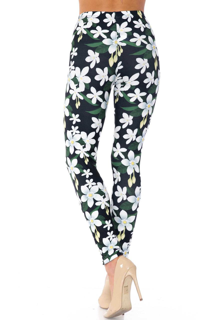 Creamy Soft Daisy Bloom Kids Leggings - USA Fashion™