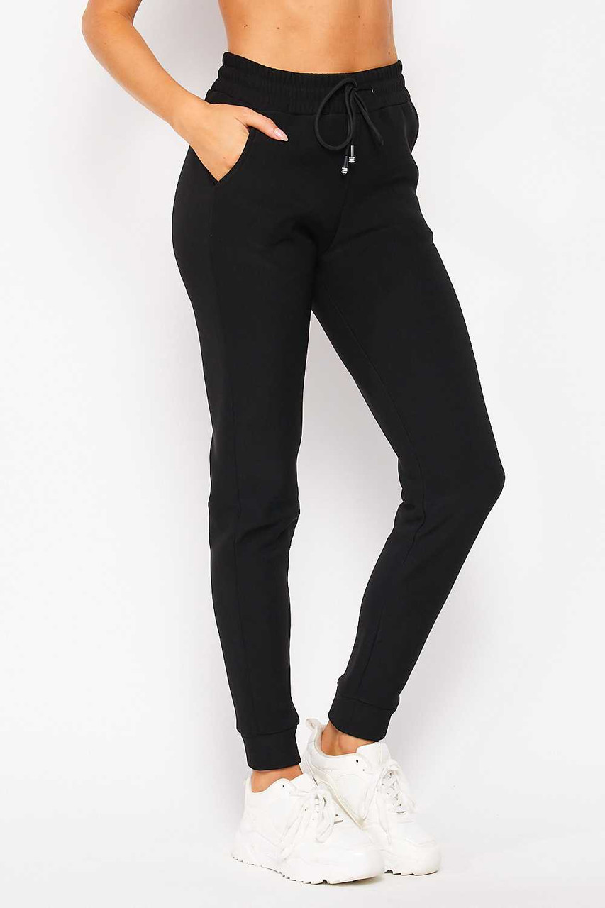 Scuba Fur Lined Jogger with Drawstring