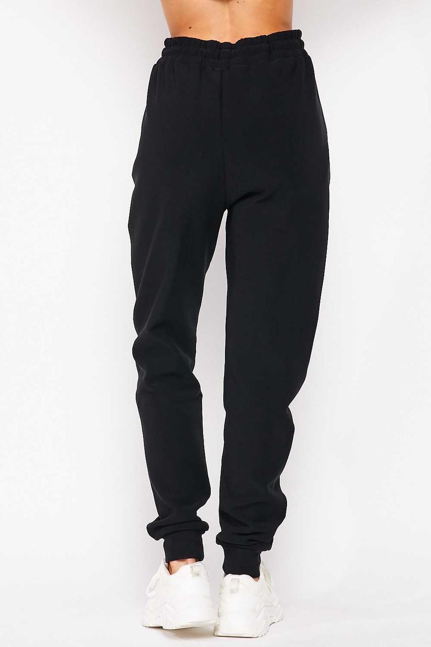 Scuba Solid Fur Lined Jogger Pocket Zipper & Drawstring