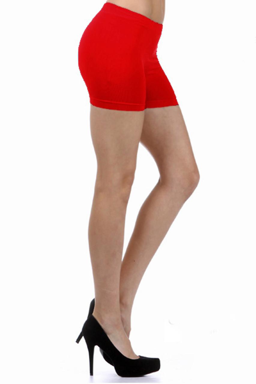 4 Inch Onesize Nylon Spandex Boy Shorts