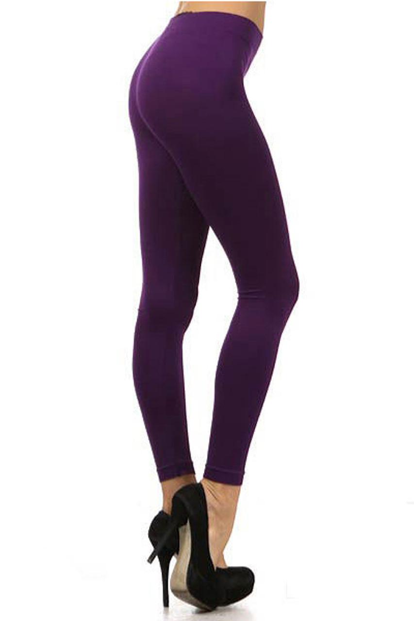 Basic Full Length Spandex Leggings