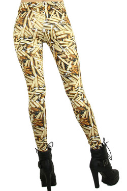 Golden Bullet Leggings